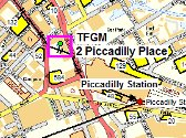 Piccadilly Place map
